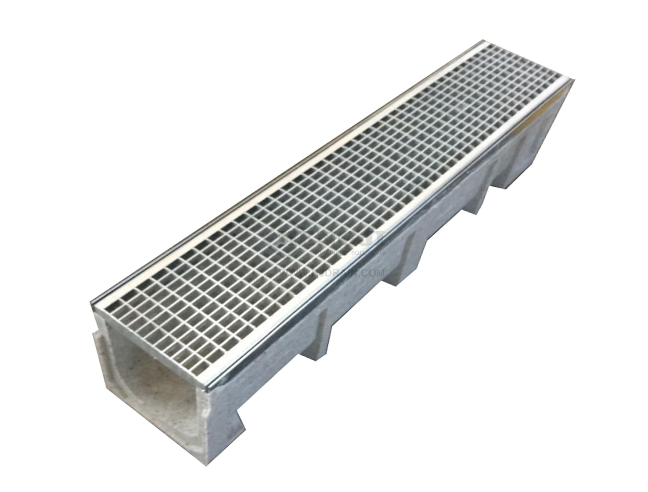 Trench Drain Se150 Z01 With Stainless Steel Grate