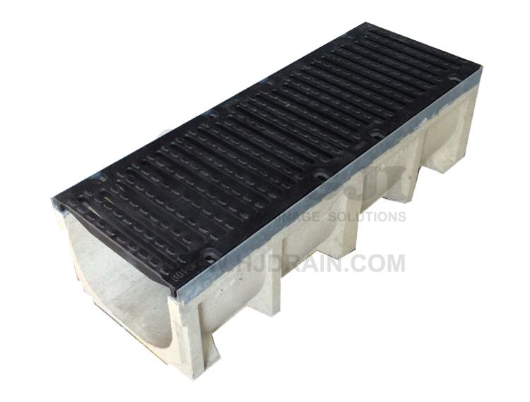 Trench Drain Se200 Z03 With Stainless Steel Grate